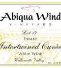 abiqua wind vineyard nv lot 17 estate intertwined cuvee white wine label 120x134 - Abiqua Wind Vineyard NV Lot 17 Estate Interwined Cuvèe White Wine, Willamette Valley, $15