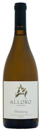 alloro vineyard estate chardonnay nv bottle - Alloro Vineyard 2018 Estate Chardonnay, Chehalem Mountains, $39