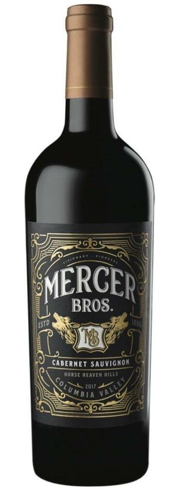 mercer bros cabernet sauvignon 2017 bottle 356x1024 - Mercer Bros. 2017 Cabernet Sauvignon, Horse Heaven Hills, $20