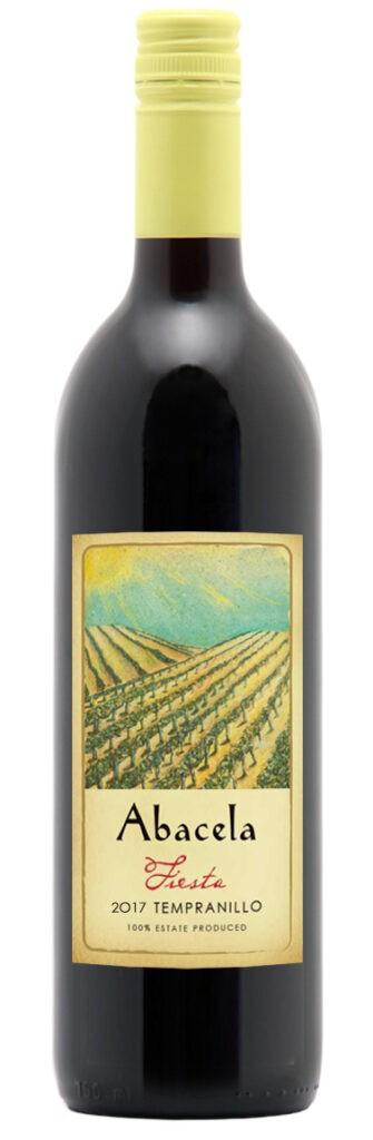 abacela-estate-fiesta-tempranillo-2017-bottle