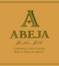 abeja heather hill cabernet sauvignon nv label 120x134 - Abeja 2016 Heather Hill Cabernet Sauvignon, Walla Walla Valley, $75