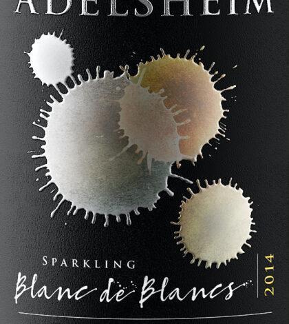 adelsheim vineyard sparkling blanc de blancs 2014 label 420x470 - Adelsheim Vineyard 2014 Sparkling Blanc de Blanc, Willamette Valley, $95