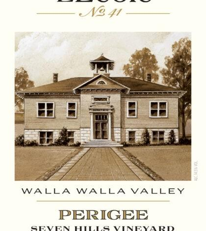 lecole no 41 seven hills vineyard estate perigee red wine 2017 label 420x470 - L'Ecole Nº 41 Winery 2017 Seven Hills Vineyard Estate Perigee, Walla Walla Valley, $54