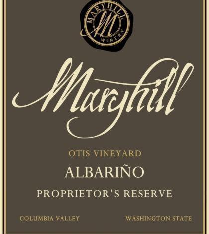 maryhill winery otis vineyard proprietor reserve albarino nv label 420x470 - Maryhill Winery 2019 Otis Vineyard Proprietor's Reserve Albariño, Columbia Valley, $24