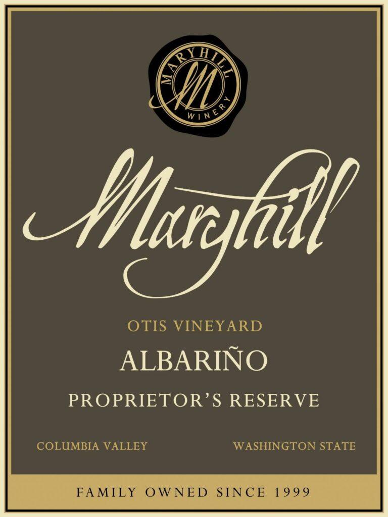 maryhill-winery-otis-vineyard-proprietor-reserve-albarino-nv-label