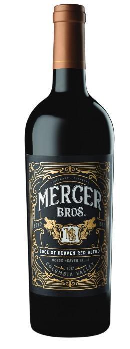 mercer bros edge of heaven red blend 2017 bottle - Mercer Bros. 2017 Edge of Heaven Red Blend, Horse Heaven Hills, $20