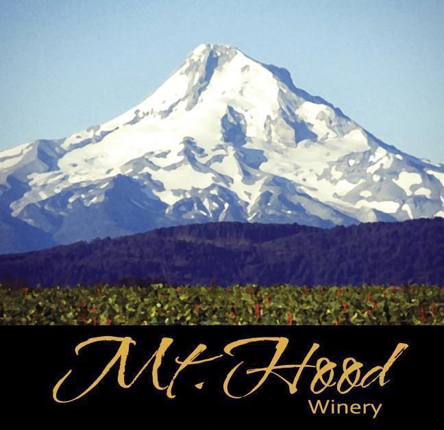Mt. Hood Winery label (red wine)