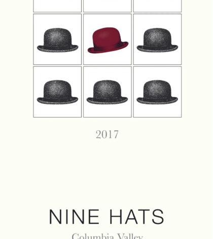 nine hats red wine 2017 label 420x470 - Nine Hats Wines 2017 Red Wine, Columbia Valley, $20