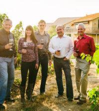 norm mckibben travis goff eric mckibben jean francoise pellet ray goff amavi pepper bridge 199x223 - Hayden Homes CEO buys interest in Pepper Bridge, Amavi wineries