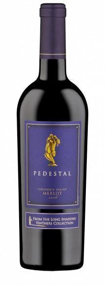 pedestal merlot 2016 bottle - Long Shadows Vintners 2016 Pedestal Merlot, Columbia Valley, $65