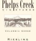 phelps creek vineyards riesling nv label 120x134 - Phelps Creek Vineyards 2019 Underwood Mountain Vineyards Riesling, Columbia Gorge, $28