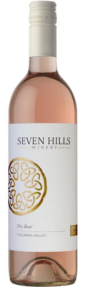 seven hills winery rose nv bottle - Seven Hills Winery 2019 Dry Rosé, Columbia Valley, $18