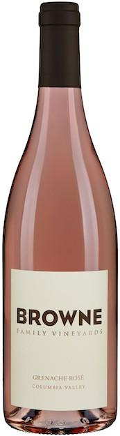 browne family vineyards grenache rose nv bottle - Browne Family Vineyards 2019 Grenache Rosé, Columbia Valley, $20