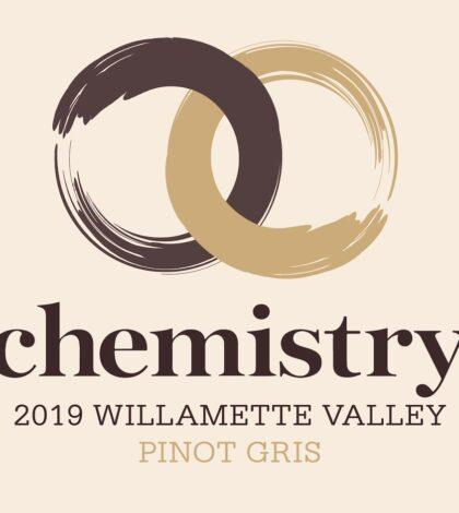 chemistry winery pinot gris 2019 label 420x470 - Chemistry Wine 2019 Pinot Gris, Willamette Valley, $14
