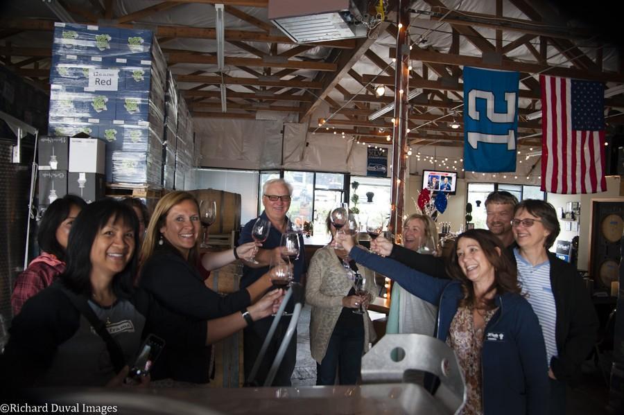 eye of the needle fans case storage woodinville richard duval images - Bullocks bid goodbye to Eye of the Needle Winery in Woodinville