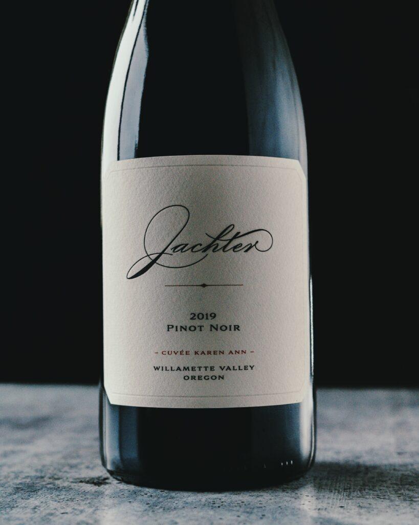 jachter family wines cuvee karen ann pinot noir 2019 bottle 819x1024 - Former Oregon car dealer gears up with Jachter Family Wines