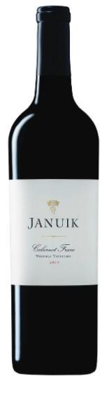 januik winery weinbau vineyard cabernet franc 2017 bottle - Januik Winery 2017 Weinbau Vineyard Cabernet Franc, Wahluke Slope, $35
