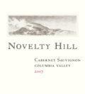 novelty hill cabernet sauvignon columbia valley 2017 label 120x134 - Novelty Hill Winery 2017 Cabernet Sauvignon, Columbia Valley, $26