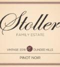 stoller family estate pinot noir 2018 dundee hills label 120x134 - Stoller Family Estate 2018 Pinot Noir, Dundee Hills, $35