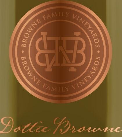 browne family vineyards dottie browne chardonnay label 420x470 - Browne Family Vineyards 2018 Dottie Browne Chardonnay, Walla Walla Valley, $42
