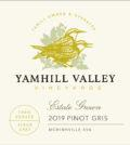 yamhill valley vineyards estate pinot gris 2019 label 120x134 - Yamhill Valley Vineyards 2019 Estate Pinot Gris, McMinnville, $22