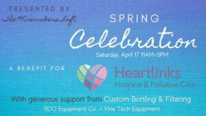 winemakers loft presents spring celebration 2021 300x169 - Winemakers Loft presents Spring Celebration to benefit for Heartlinks Hospice